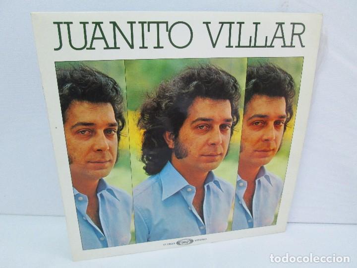 JUANITO VILLAR. LP VINILO. MOVIEPLAY 1978. VER FOTOGRAFIAS ADJUNTAS (Música - Discos - LP Vinilo - Flamenco, Canción española y Cuplé)