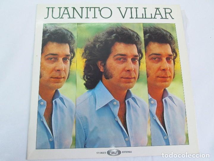 Discos de vinilo: JUANITO VILLAR. LP VINILO. MOVIEPLAY 1978. VER FOTOGRAFIAS ADJUNTAS - Foto 2 - 114002131