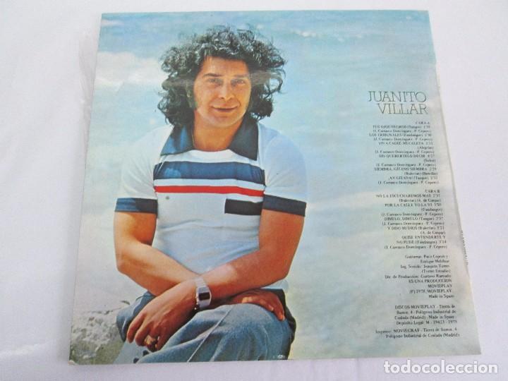 Discos de vinilo: JUANITO VILLAR. LP VINILO. MOVIEPLAY 1978. VER FOTOGRAFIAS ADJUNTAS - Foto 9 - 114002131