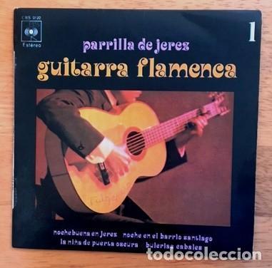 PARRILLA DE JEREZ - GUITARRA FLAMENCA - 1971 (Música - Discos de Vinilo - EPs - Flamenco, Canción española y Cuplé)