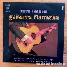 Discos de vinilo: PARRILLA DE JEREZ - GUITARRA FLAMENCA - 1971. Lote 114005799