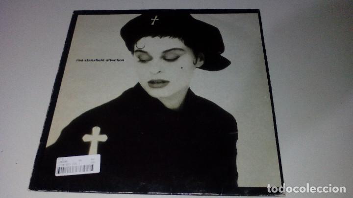 LISA STANSFIELD - AFFECTION (Música - Discos - LP Vinilo - Pop - Rock - New Wave Extranjero de los 80)