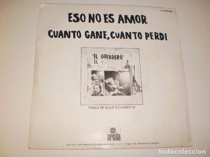 Discos de vinilo: Single pablo milanés. eso no es amor.cuanto gané cuanto perdi Ariola 1984 spain (probado y bien) - Foto 2 - 114033235