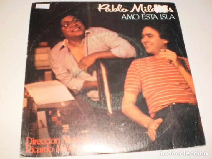 Discos de vinilo: Single pablo milanés. amo esta isla. acto de fe. Movie Play1982 spain (probado y bien) - Foto 1 - 114033679