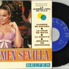 Discos de vinilo: CARMEN SEVILLA EP CARMEN DE ESPAÑA + 3 1967 @ A ESTRENAR. Lote 114035791