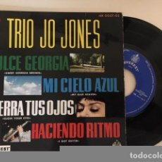 Discos de vinilo: THE JO JONES TRIO ‎- DULCE GEORGIA + 3 / EP HISPAVOX HR 0027-05 - 1961 - ED ESP. Lote 114036499