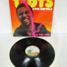 Disques de vinyle: TOOTS & THE MAYTALS - PASS THE PIPE - LP - MANGO 1979 USA MLPS 9534 - VINILO N MINT. Lote 114037691