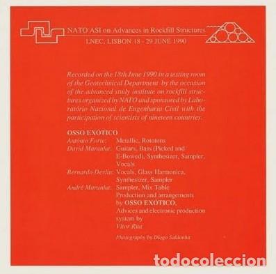 Discos de vinilo: Osso Exótico – I Multinational MN 1 Portugal '90 PORTADA ABIERTA,COMO NUEVO. - Foto 3 - 114043699