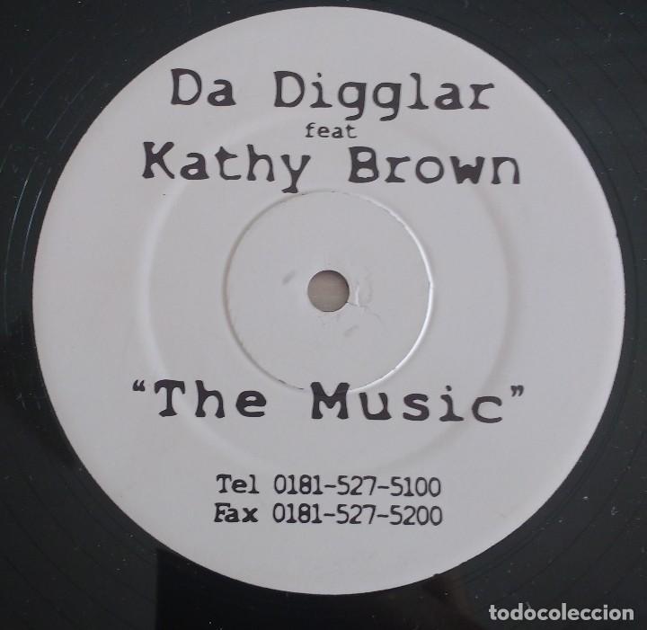 DA DIGGLAR FEAT. KATHY BROWN – THE MUSIC (Música - Discos de Vinilo - Maxi Singles - Techno, Trance y House)