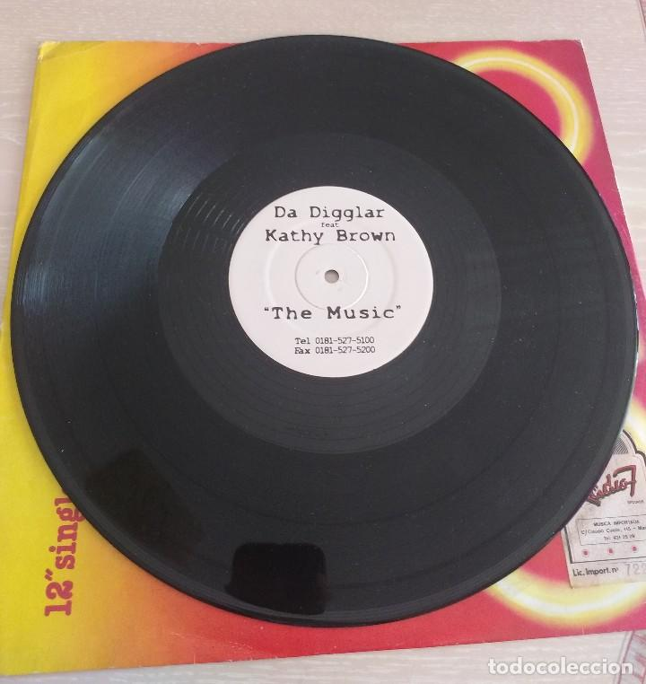 Discos de vinilo: Da Digglar Feat. Kathy Brown – The Music - Foto 3 - 114044719
