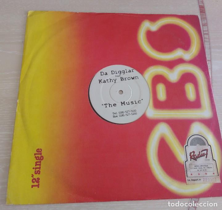 Discos de vinilo: Da Digglar Feat. Kathy Brown – The Music - Foto 4 - 114044719