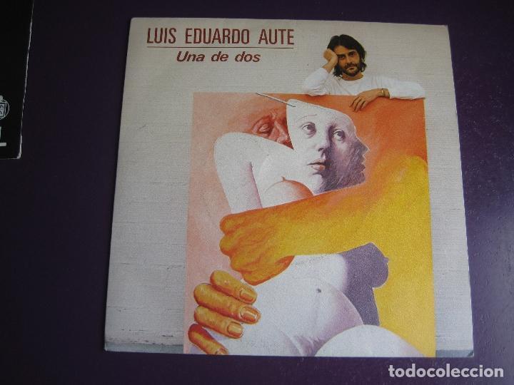 LUIS EDUARDO AUTE SG ARIOLA 1984 UNA DE DOS/ CINE CINE (Música - Discos - Singles Vinilo - Cantautores Españoles)