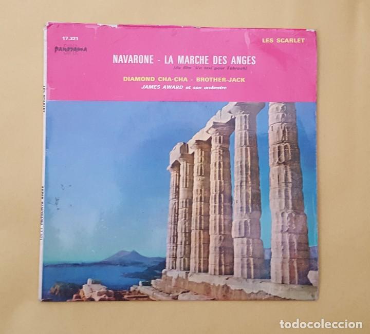 EP - LES SCARLET / JAMES AWARD ET SON ORCHESTRE - NAVARONE +3 - SUPER PANORAMA 17.321 (Música - Discos de Vinilo - EPs - Canción Francesa e Italiana)