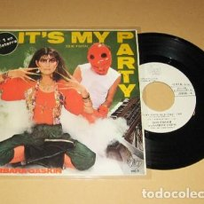 Discos de vinilo: DAVE STEWART AND BARBARA GASKIN - IT'S MY PARTY (ES MI FIESTA) - SINGLE - 1981. Lote 114056119