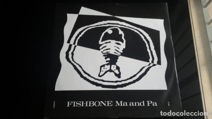 EP FISHBONE: MA AND PA (EDIC. UK 1989. 3 TEMAS) (Música - Discos de Vinilo - EPs - Pop - Rock Internacional de los 90 a la actualidad)