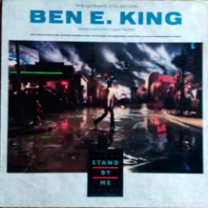 Discos de vinilo: BEN E . KING. STAND BY ME. THE ULTIMATE COLLECTION. LP ESPAÑA. Lote 114072683
