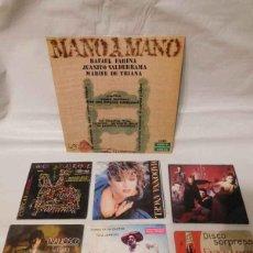 Discos de vinilo: M69 LOTE DE VINILOS. SINGLES Y LP. VARIADOS. ALGUNOS MUY INTERESANTES. OFERTÓN.. Lote 114074979