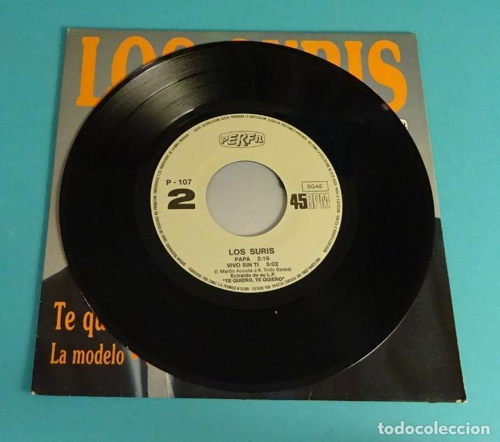 Discos de vinilo: LOS SURIS. TE QUIERO, TE QUIERO. PAPÁ. LA MODELO. VIVO SIN TI - Foto 3 - 114080427