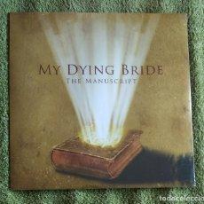 Discos de vinilo: MY DYING BRIDE - THE MANUSCRIPT 12'' MINI LP NUEVO Y PRECINTADO - DOOM METAL GOTHIC METAL. Lote 114084747