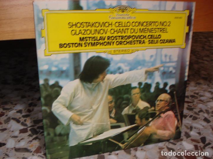 Shostakovich, concierto de cello 2  glazounov c - Sold
