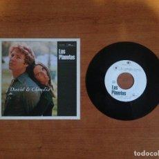 Discos de vinilo: LOS PLANETAS - DAVID Y CLAUDIA (PRIMERA EDICIÓN 1996 POP NÚMERO DE COPIA #739). Lote 113848011