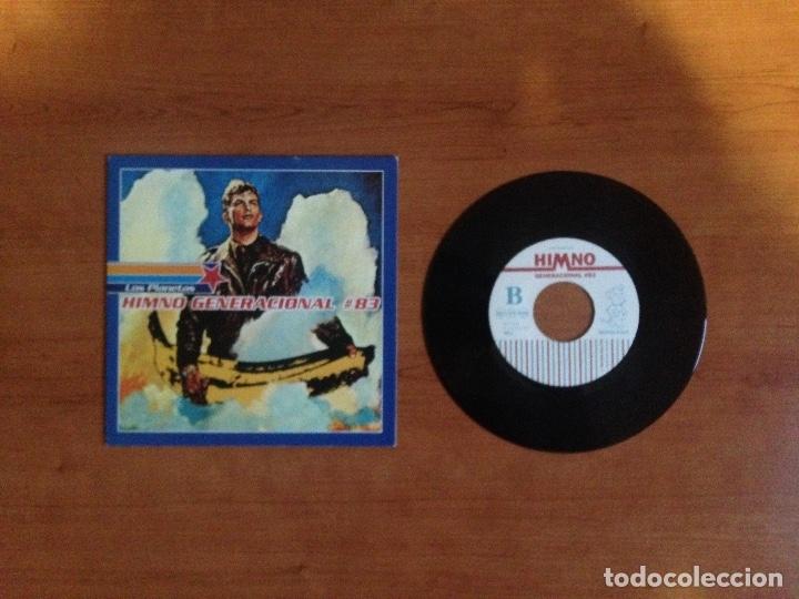 LOS PLANETAS - HIMNO GENERACIONAL #83 (PRIMERA EDICIÓN 1996 POP NÚMERO DE COPIA #588) (Música - Discos de Vinilo - EPs - Grupos Españoles de los 90 a la actualidad)