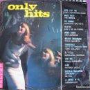 Discos de vinilo: LP - ONLY HITS - VARIOS (SPAIN, BELTER 1966, VER FOTO ADJUNTA). Lote 114097871