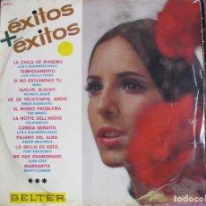 Discos de vinilo: LP - EXITOS + EXITOS - VARIOS (SPAIN, BELTER 1966). Lote 114101451