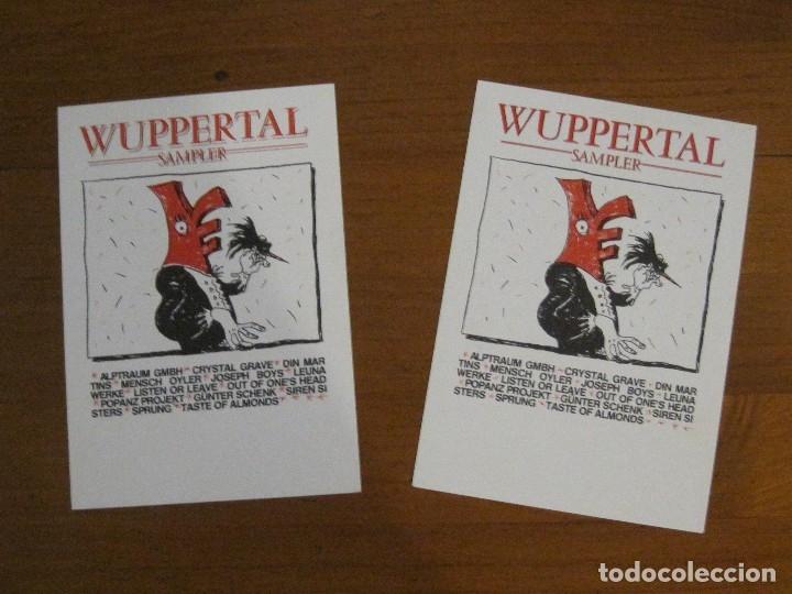 Discos de vinilo: Wuppertal Sampler – Varios Artistas Sello Pigture '87 con libro COMPLETO Y 2 POSTALES.COMO NUEVO. - Foto 5 - 113967615