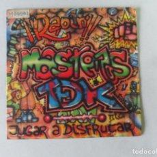 Discos de vinilo: MASTERS T DE K - JUGAR A DISFRUTAR RADIO MIX - SINGLE. Lote 114109355