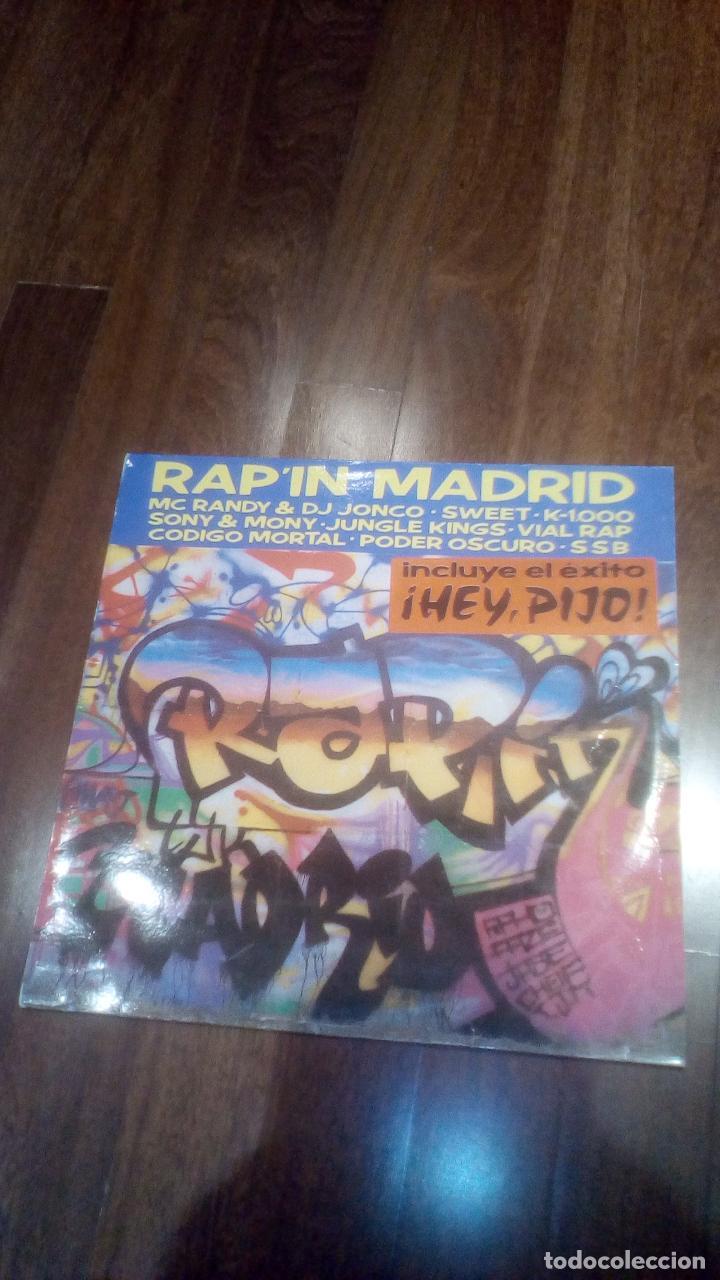 RAP'IN MADRID.LP (Música - Discos - LP Vinilo - Rap / Hip Hop)