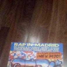 Discos de vinilo: RAP'IN MADRID.LP. Lote 114116323