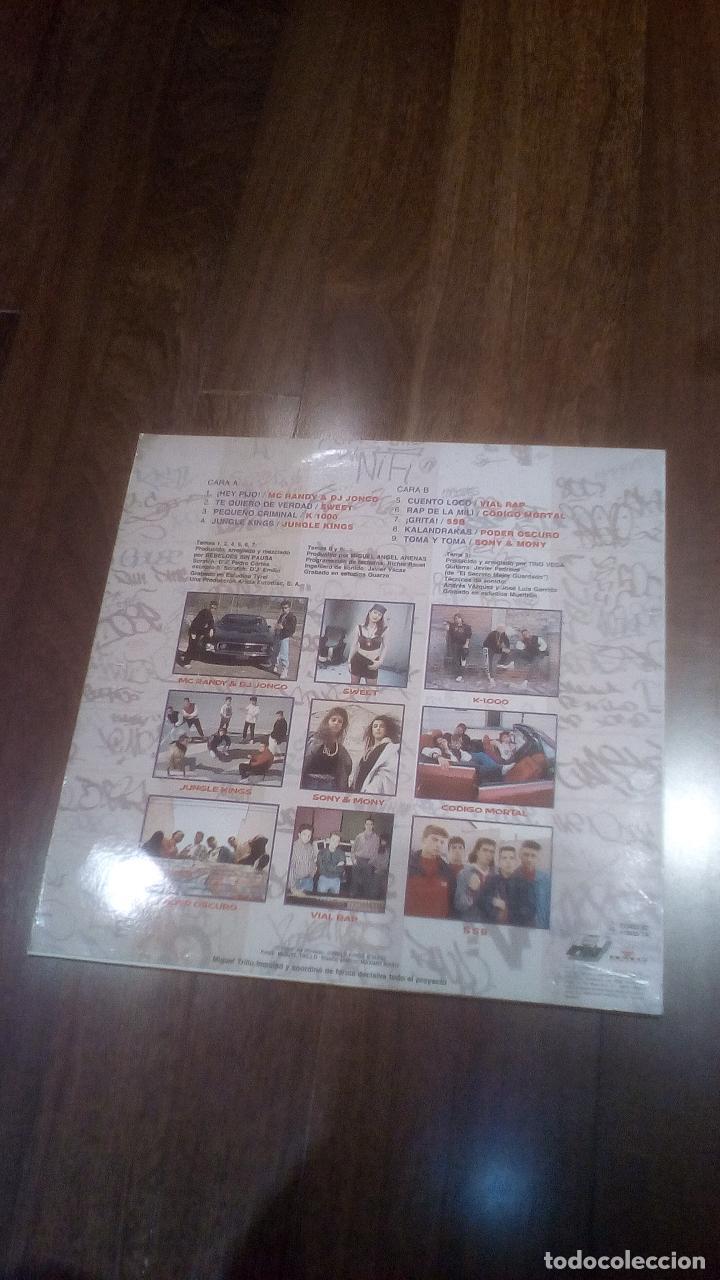 Discos de vinilo: Rapin Madrid.lp - Foto 2 - 114116323