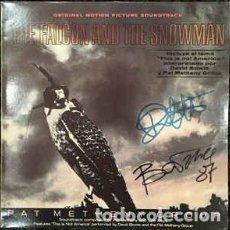 Discos de vinilo: PAT METHENY GROUP - THE FALCON AND THE SNOWMAN (ORIGINAL MOTION PICTURE SOUNDTRACK) . Lote 114116383