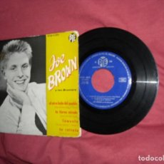 Discos de vinilo: JOE BROWN Y LOS BRUVVERS EP EL OTRO LADO DEL PUEBLO 1962 PYE RCA SPAIN. Lote 114117479