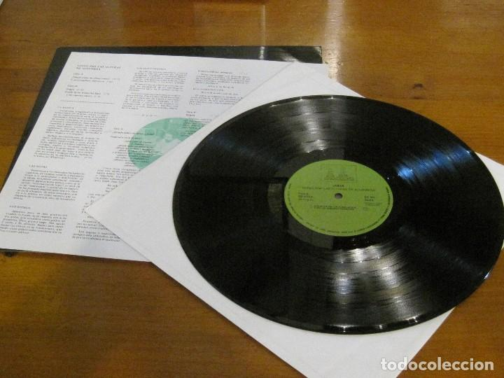 Discos de vinilo: Jabir – Vuelo Por Las Alturas De La Alambra – Esplendor Geométrico EG 013 '88 COMO NUEVO. - Foto 4 - 114120151