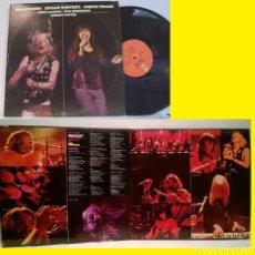 Discos de vinilo: JOHNNY WINTER & EDGAR WINTER / ROADWORK EDGAR WINTER WHITE TRASH 1972 !! DOBLE LP !! ORIG. USA !! EX. Lote 232442700