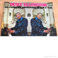 Discos de vinilo: LP. DUKE ELLINGTON . SUS COMIENZOS / GRABACIOES DE 1926 A 1928. Lote 114151631