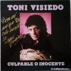 Discos de vinilo: TONI VISIEDO-CULPABLE O INOCENTE,. Lote 114158611