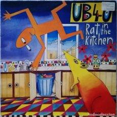 Discos de vinilo: UB40-RAT IN THE KITCHEN, DEP INTERNATIONAL-T-207 847. Lote 114160435