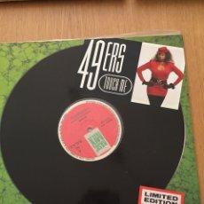"""Discos de vinilo: 49ERS 12"""" TOUCH ME. Lote 114175498"""