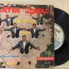 Discos de vinilo: LATIN COMBO -TELSTAR + 3 / EP VERGARA 35.0.025 C - 1962 - ED ESPAÑOLA / EXCELENTE CONDICION. Lote 114181215
