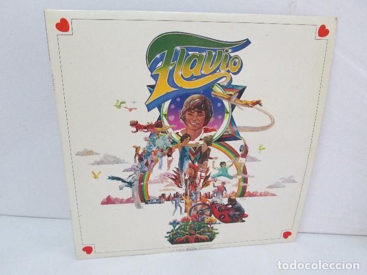 FLAVIO. LP VINILO. MOVIEPLAY 1979. VER FOTOGRAFIAS ADJUNTAS (Música - Discos de Vinilo - EPs - Grupos Españoles de los 70 y 80)