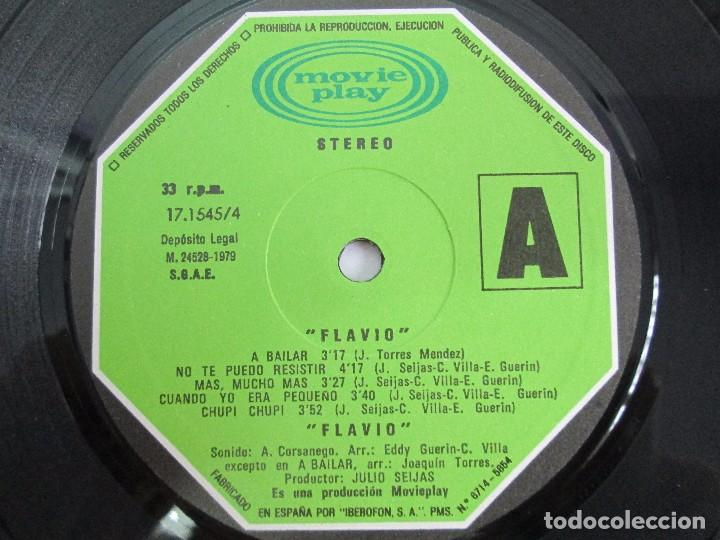 Discos de vinilo: FLAVIO. LP VINILO. MOVIEPLAY 1979. VER FOTOGRAFIAS ADJUNTAS - Foto 5 - 114182723