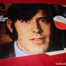 Discos de vinilo: JOAN MANUEL SERRAT LP 1968 EDIGSA GATEFOLD EDICION ESPAÑOLA SPAIN. Lote 114183799
