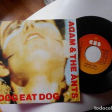 Discos de vinilo: ADAM & THE ANTS-SINGLE DOG EAT DOG. Lote 114183875