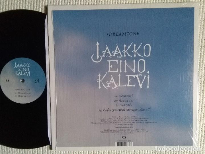 Discos de vinilo: JAAKKO EINO KALEVI - DREAMZONE EP 12 4 TRACKS UK 2013 SHRINK - Foto 2 - 114195399