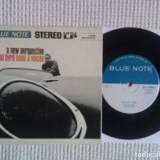 Discos de vinilo: DONALD BYRD - '' A NEW PERSPECTIVE '' SINGLE/EP VINYL 7'' 33RPM JUKEBOX 1966 USA. Lote 114196715