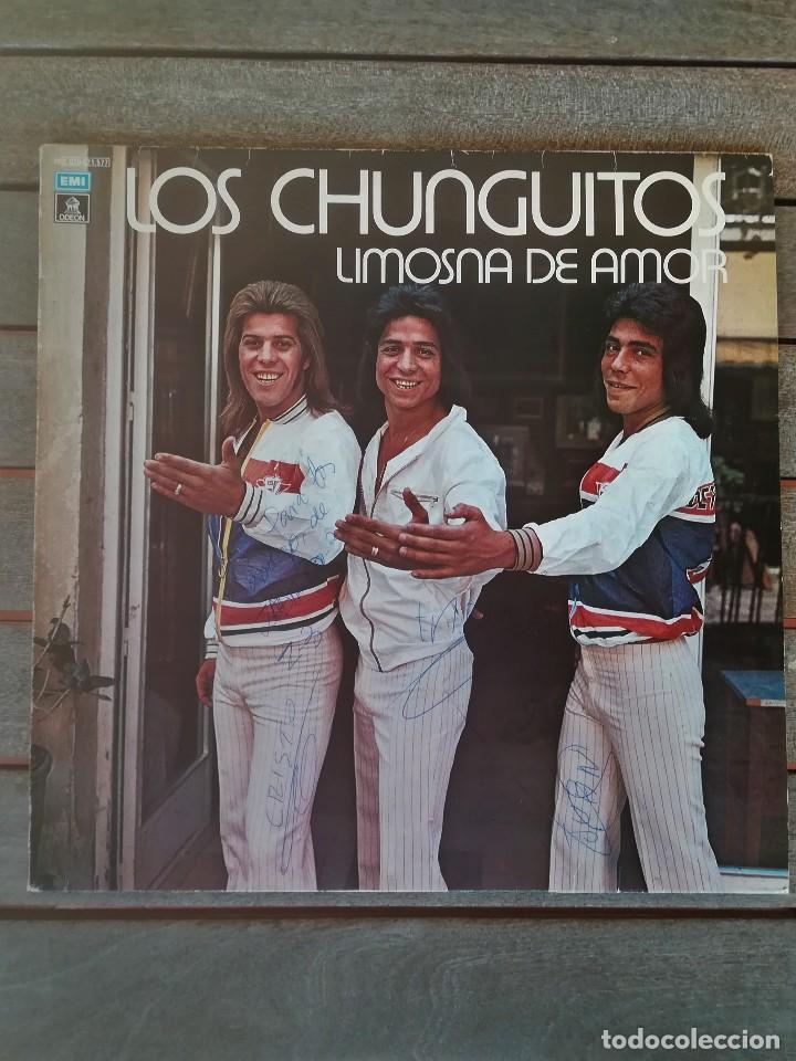 LP DISCO DE VINILO,LOS CHUNGUITOS,AÑO 1979 FIRMADO POR LOS CANTANTES,RUMBA FLAMENCO,CANTE GITANO (Música - Discos - LP Vinilo - Flamenco, Canción española y Cuplé)