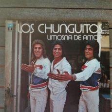 Discos de vinilo: LP DISCO DE VINILO,LOS CHUNGUITOS,AÑO 1979 FIRMADO POR LOS CANTANTES,RUMBA FLAMENCO,CANTE GITANO. Lote 114197963